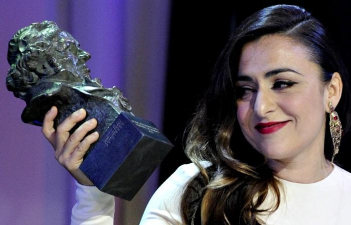 Candela Peña, cérémonie des Goya 2013