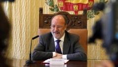 Le maire de Valladolid, Francisco Javier León de la Riva