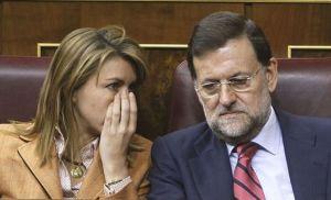 María Dolorès de Cospedal et Mariano Rajoy