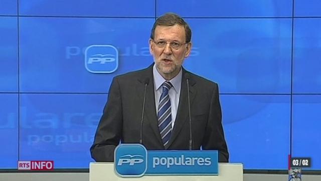"Mariano Rajoy : ""Todo es falso !"""