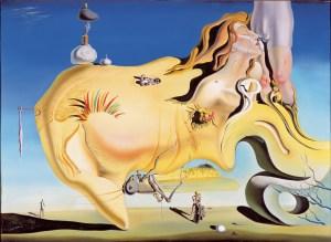Salvador Dalí, Le Grand Masturbateur (1929), musée Reina Sofia