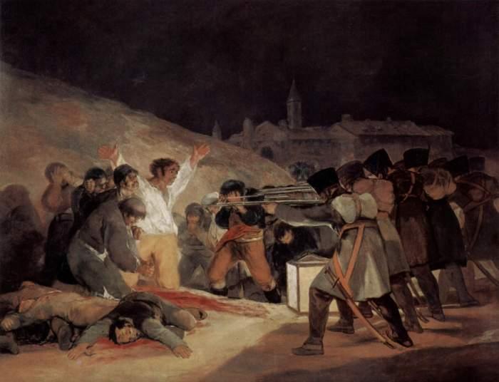 Francisco de Goya, Tres de Mayo (1814), musée du Prado