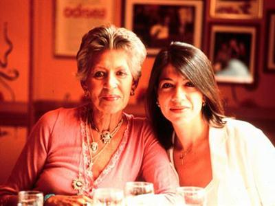 Pilar et Mónica Bardem