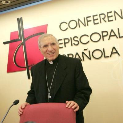 Le cardinal Antonio María Rouco lors de la Conférence Épiscopale Espagnole