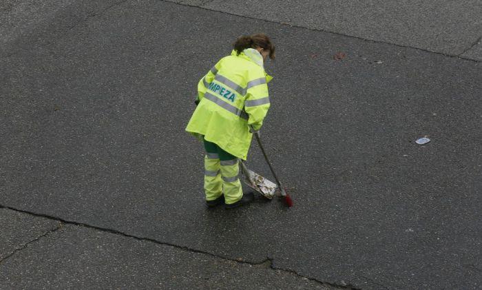Grève des éboueurs à Madrid