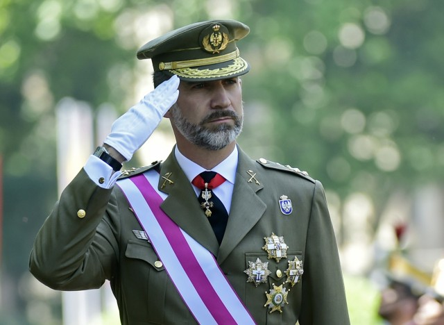 SPAIN-DEFENSE-ROYALS